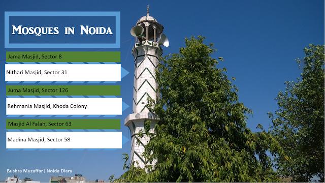 Noida Diary: Mosques / Masjid in Noida