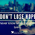 Hope Quotes and Hope Saying with Images & Pictures