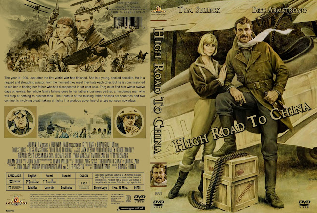 High Road To China DVD Cover