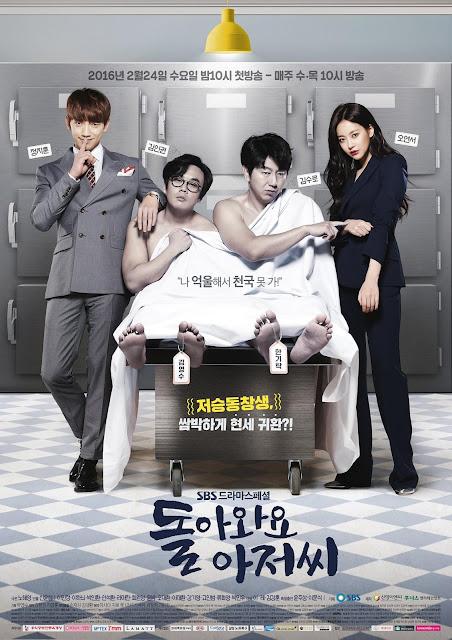 Korean Drama Please Come Back, Mister (2016) Subtitle Indonesia