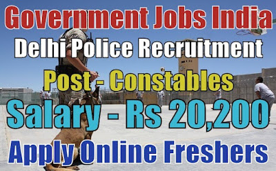 Delhi Police Recruitment 2018
