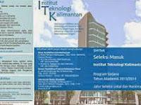 Pendaftaran Mahasiswa Baru ( ITK ) 2020-2021