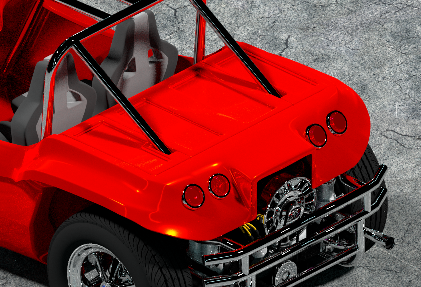The Tinkers Workshop: Dune Buggy Project Update
