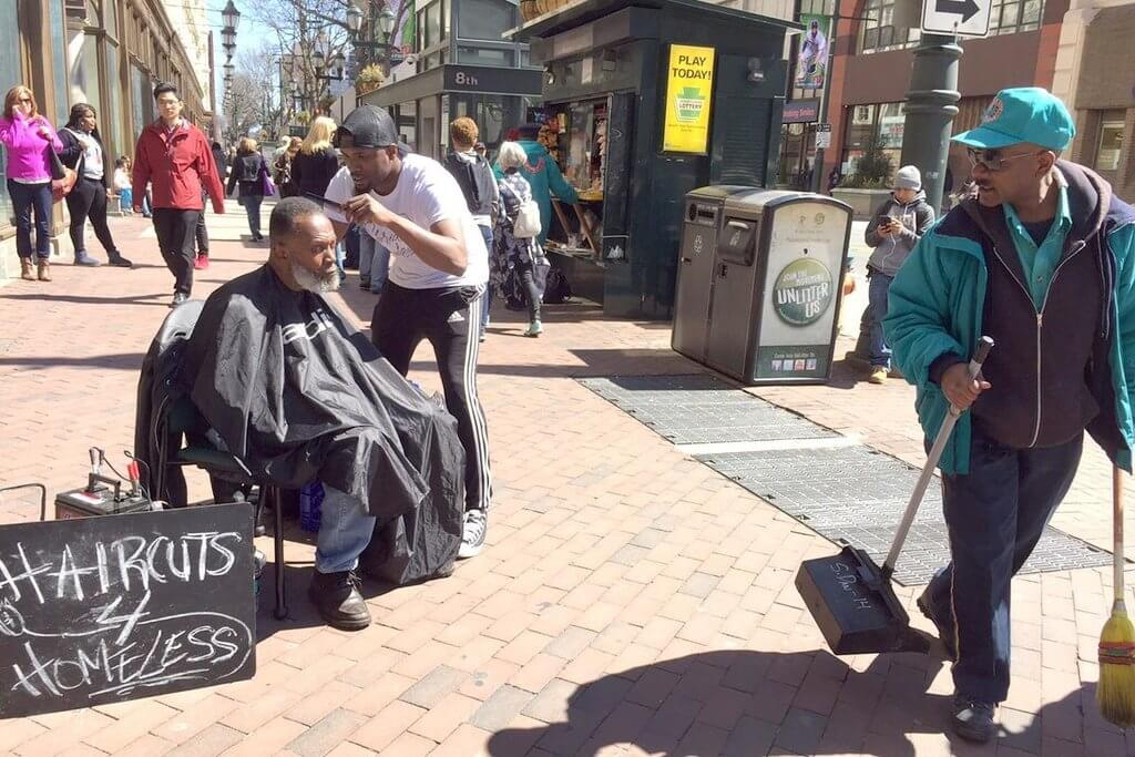 This Amazing Guy Who Offers Free Haircuts To The Homeless Has Now His Own Barbershop