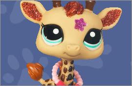 LPS Giraffe Figures