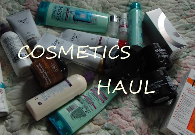 Duży HAUL kosmetyczny || BIG COSMETICS HAUL