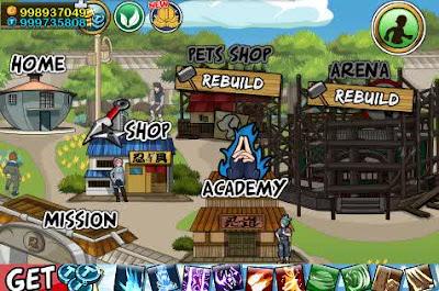 Ninja Saga v0.9.64 Mod for Android