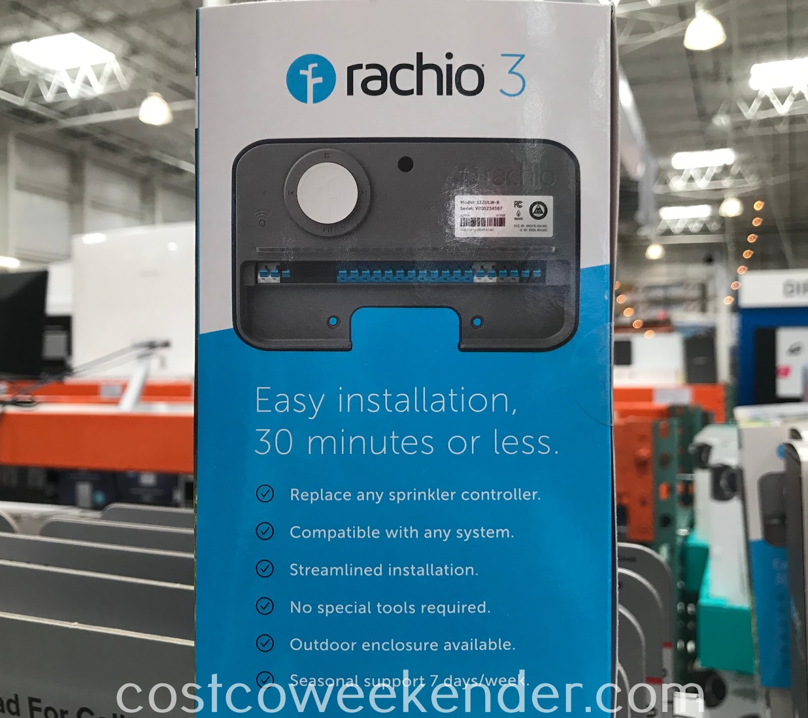Rachio 3 Smart Sprinkler Controller: great for any lawn or garden