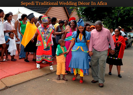 Sepedi Traditional Wedding Décor In Afica Formation Decoration