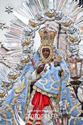imagen vicaria Virgen de la Cabeza