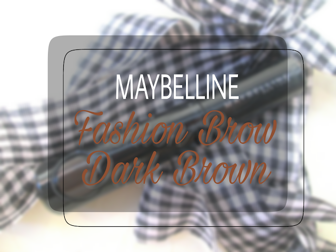 Review Maybelline Fashion Brow - Dark Brown