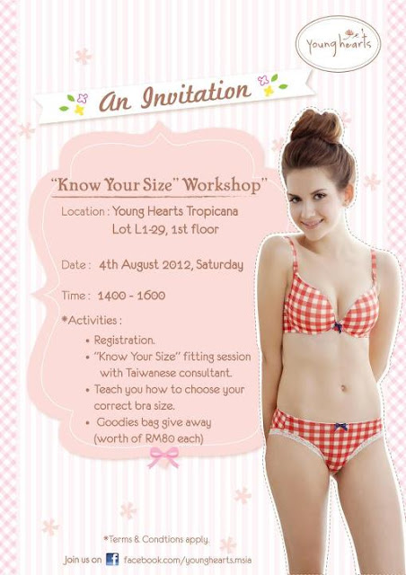 048bda2597a47 Everyday Is A Caturday!: Young Hearts Bra Fitting Workshop