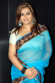 blue-transparent-saree