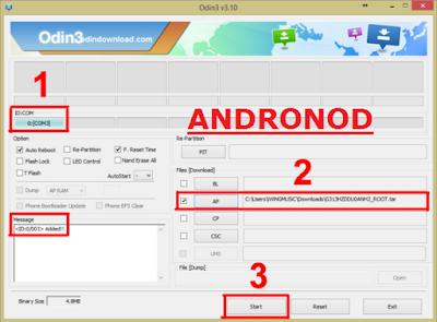 Root dan Install TWRP Samsung Galaxy J2 (SM-J200G, SM-J200GU, SM-J200F)