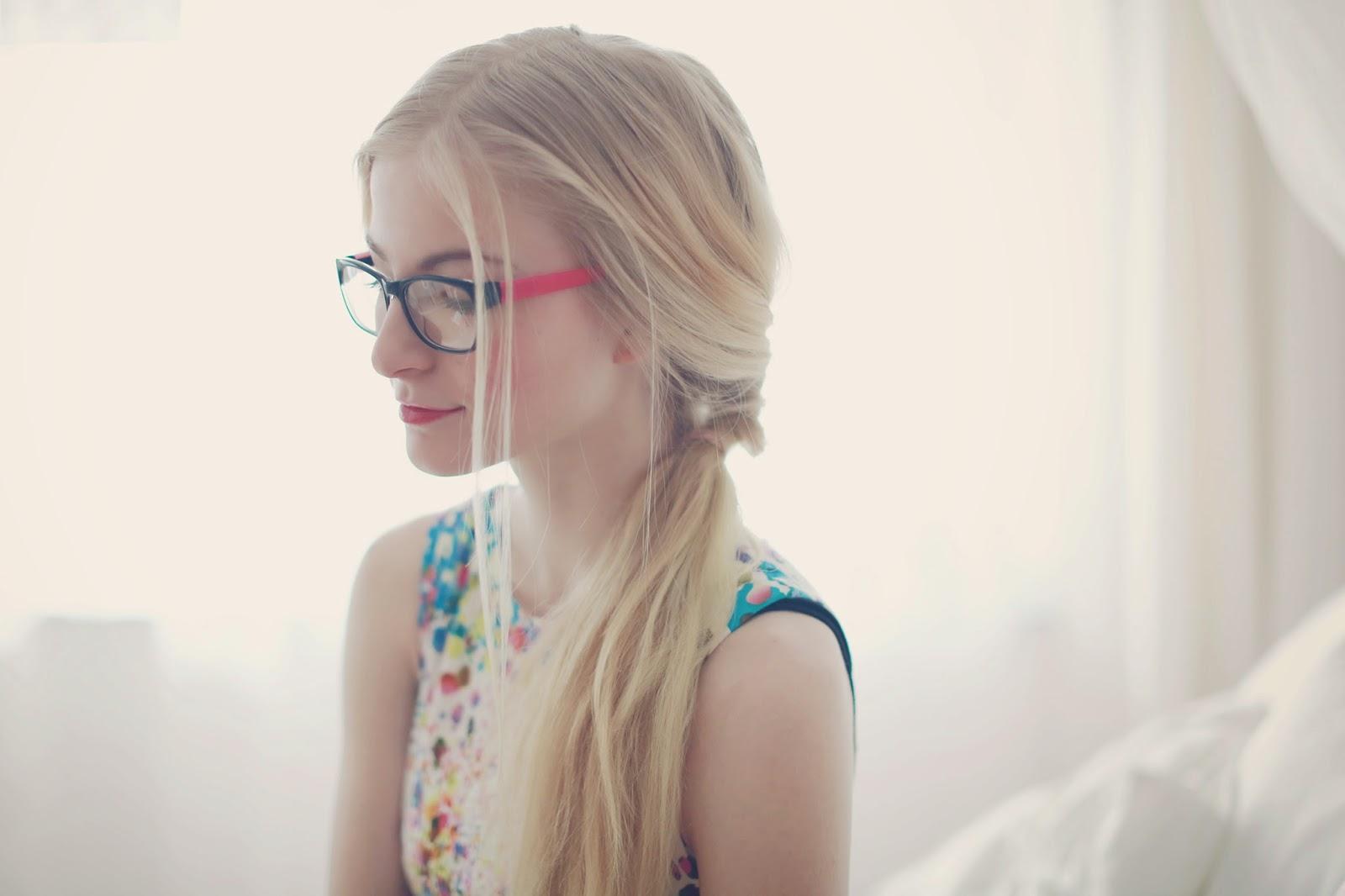 Haarspray Auf Brille