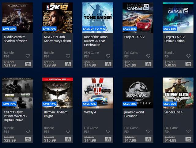 انطلاق أكبر حملة تخفيضات على متجر PlayStation Store العربي و ألعاب رهيبة بسعر مناسب