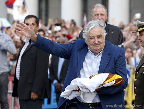 Ông Jose Mujica còn là vị Tổng thống được người dân yêu mến nhất tại Châu Mỹ La Tinh