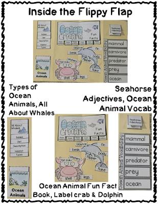 https://www.teacherspayteachers.com/Product/Ocean-Animals-Flippy-Flaps-Interactive-Notebook-Lapbook-2611327