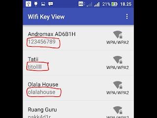 Cara Membuka dan Mengetahui Password WiFi yang Terkunci