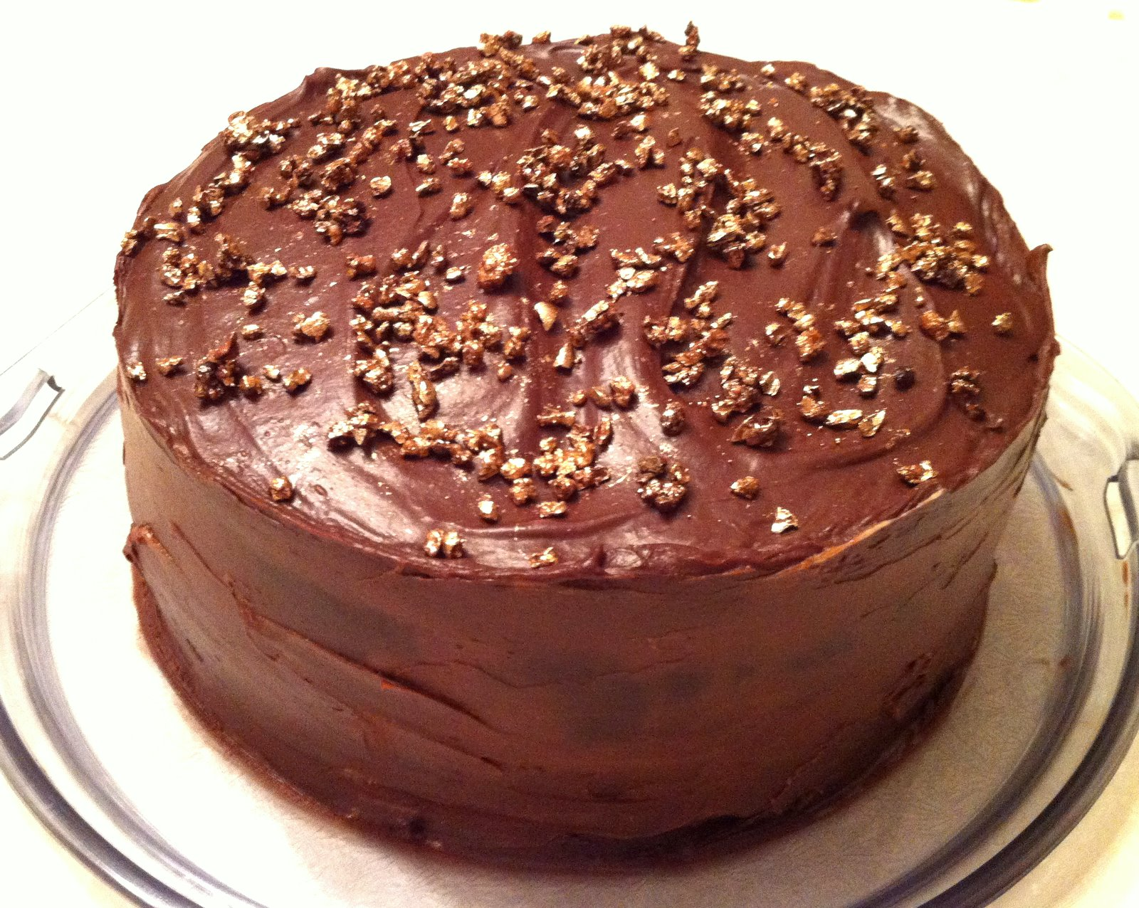Brownie on the Bench: Chocolate Coffee Cake...Without Coffee