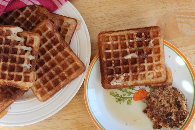 Vegan Waffles, Vegan Easter