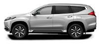 Mitsubishi Pajero Exceed Warna Silver
