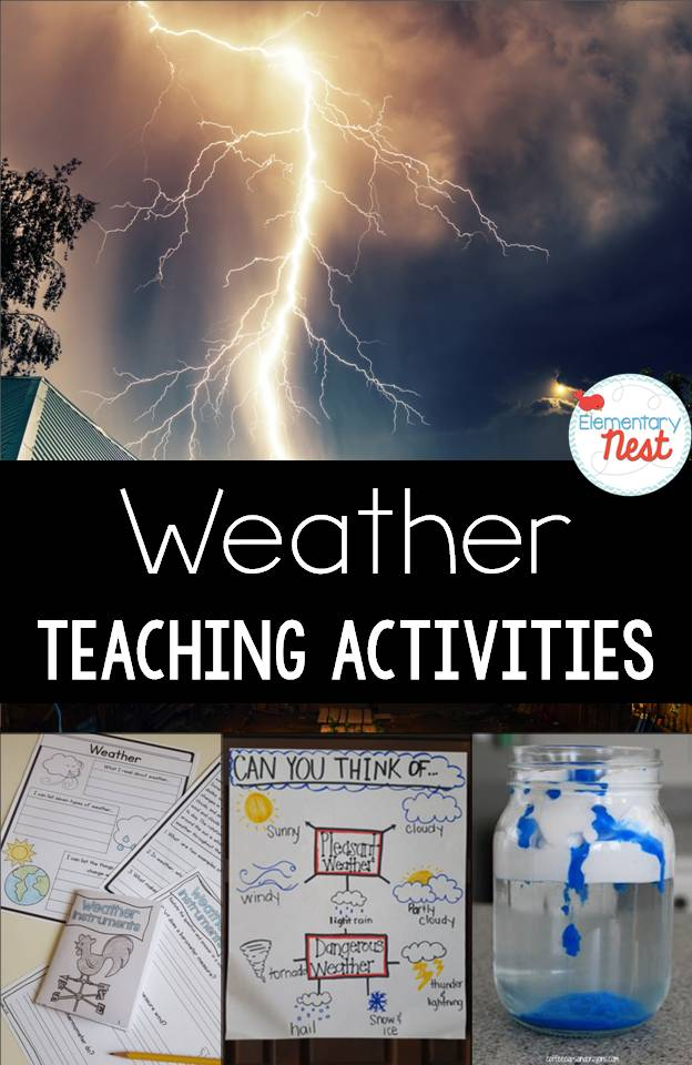 Teaching Weather Activities And Resources Elementary Nest