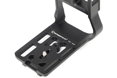 Sunwayfoto PCL-1DX Custom L Bracket base top-view