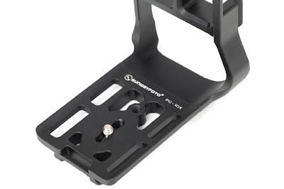 Sunwayfoto PCL-1DX Custom L Bracket base top-view