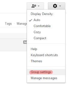 Membuat dan Memasang Google Groups di Blogspot