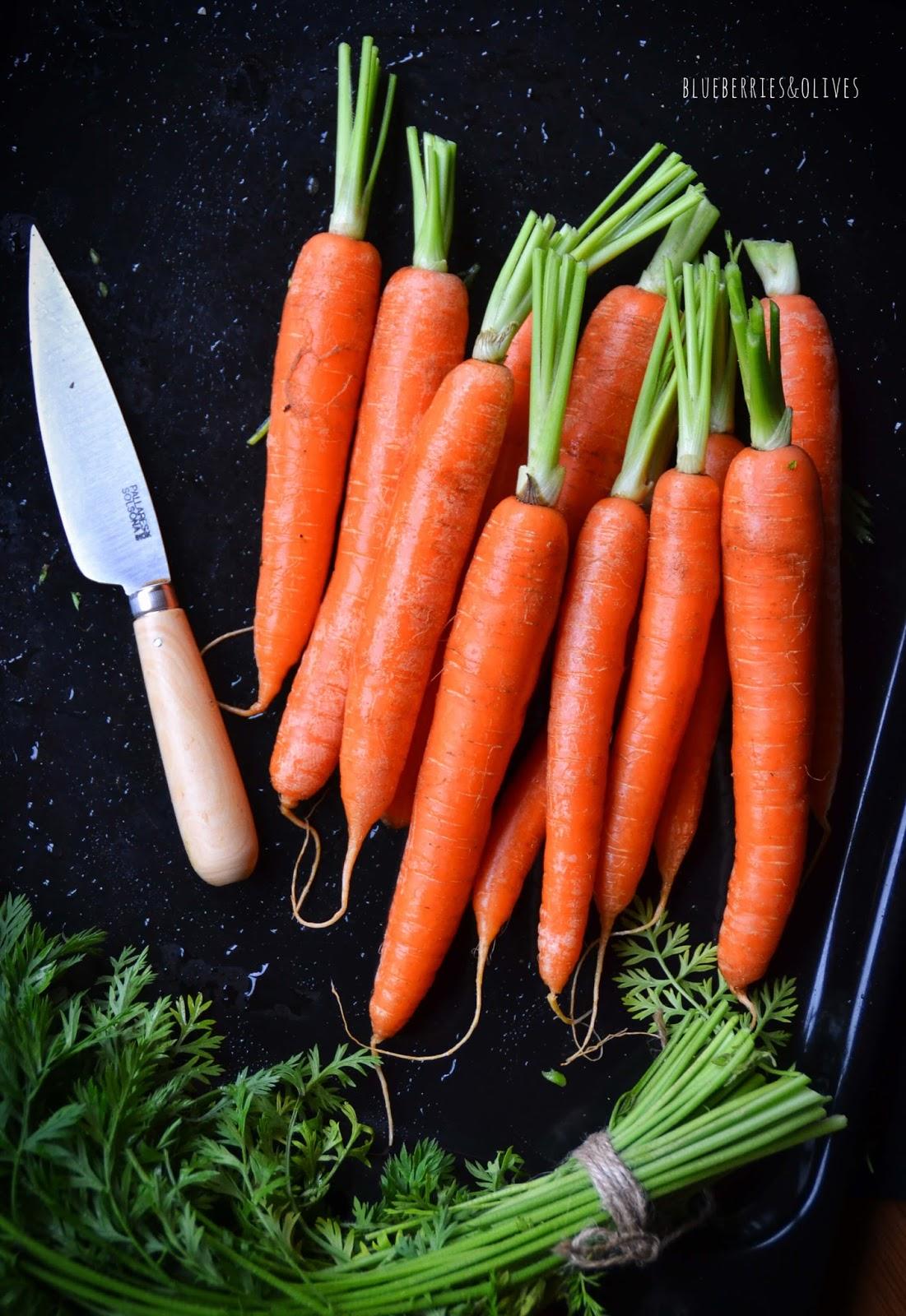 Zanahorias - Crema de zanahoria y calabaza con leche de coco