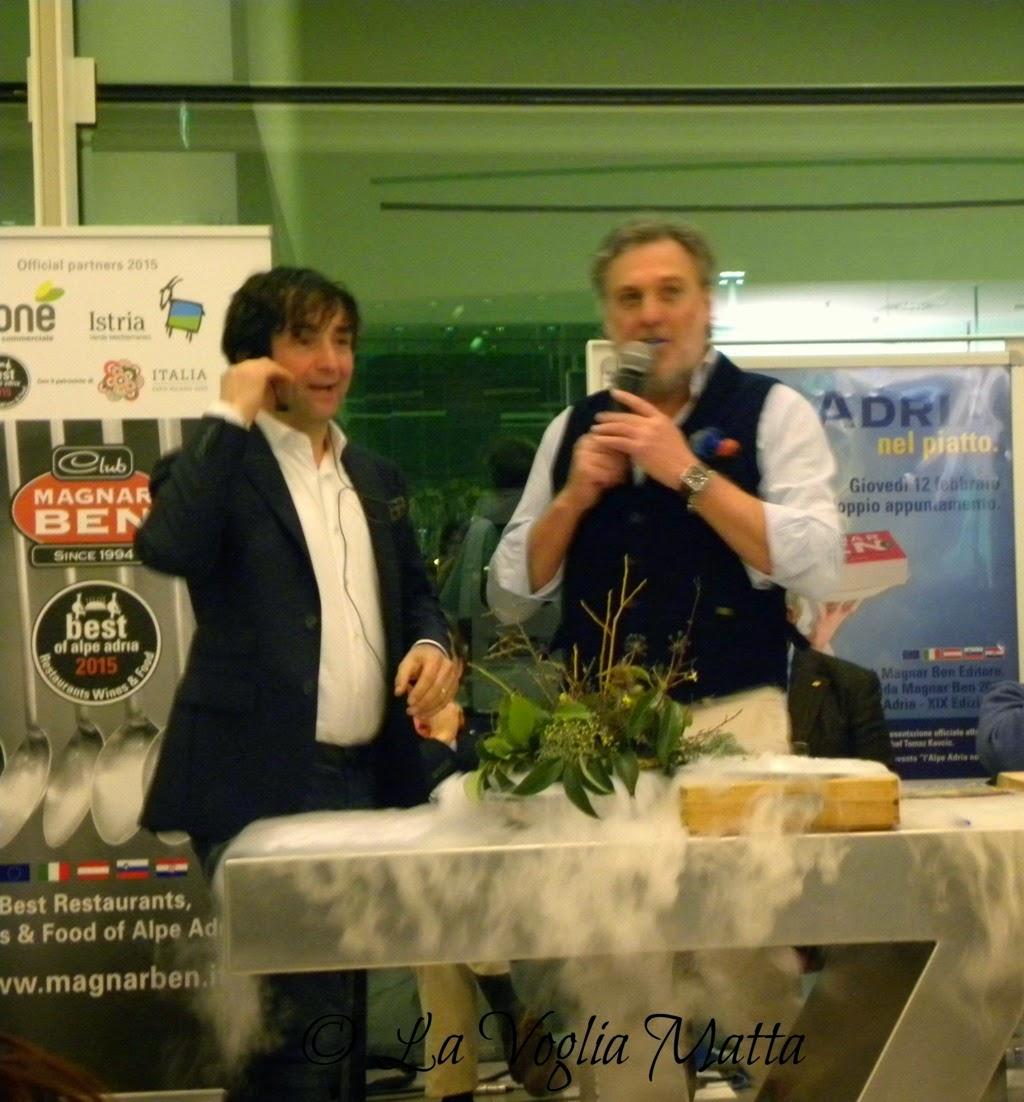 Tomaz Kavcic e Maurizio Potocnik