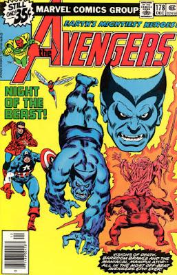 Avengers #178, the Beast