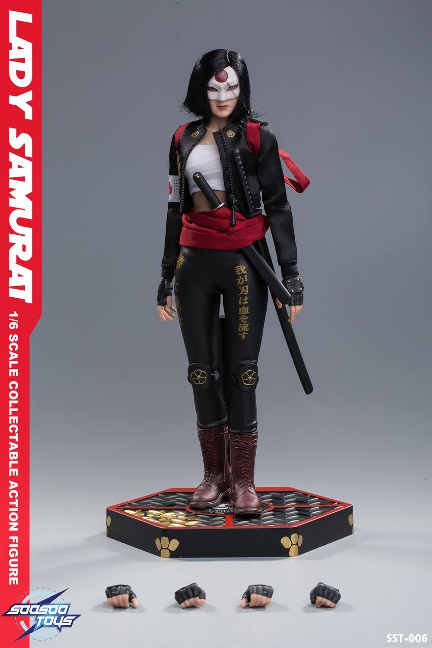 Toyhaven Soosoo Toys 1 6th Scale Lady Samurai 12 Inch Collectible Figure Katana From Suicide