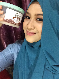 NATURE ORGANIC CHOCO OAT MILK LULUR WAJAH REVIEW