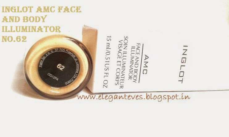 Inglot AMC Face and Body Illuminator No.62