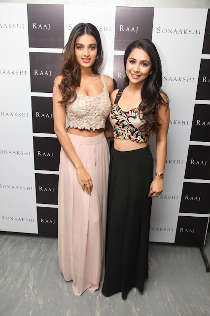 Designer Sonaakshi Raaj Unveils Her New Store in New Delhi – Defence Colony​ in the presence of Bollywood Actor Nidhhi Agerwal​