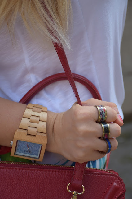 orologio in legno gufo italy anelli disegual mariafelicia magno fashion blogger blogger italiane di moda web influencer