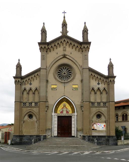 Church of the Sarced Heart, Viale del Risorgimento, Livorno