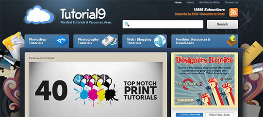 Tutorial9 website