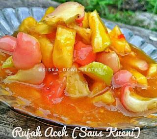 Ide Resep Masak Rujak Aceh (Saus Kueni)