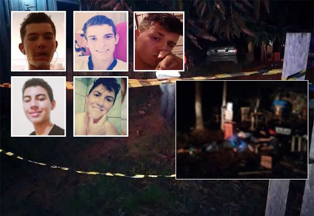 Chacina em Cabixi deixa 5 jovens mortos com tiros na cabeça
