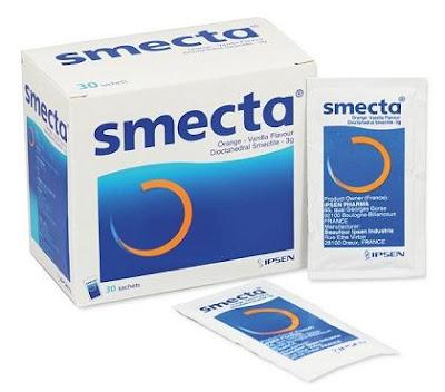 Thuốc cầm tiêu chảy Smecta