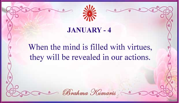Thought For The Day January 4