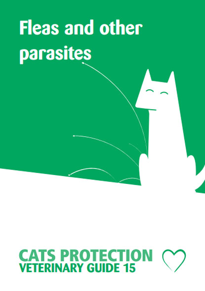 Cats Protection Veterinary Guide: Fleas and other parasites leaflet
