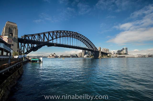 landscape travel photography tips sydney harbour bridge nina beilby