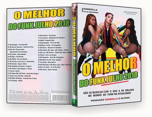 O Melhor Do Funk 2018 DVD-R AUTORADO – CAPA DVD