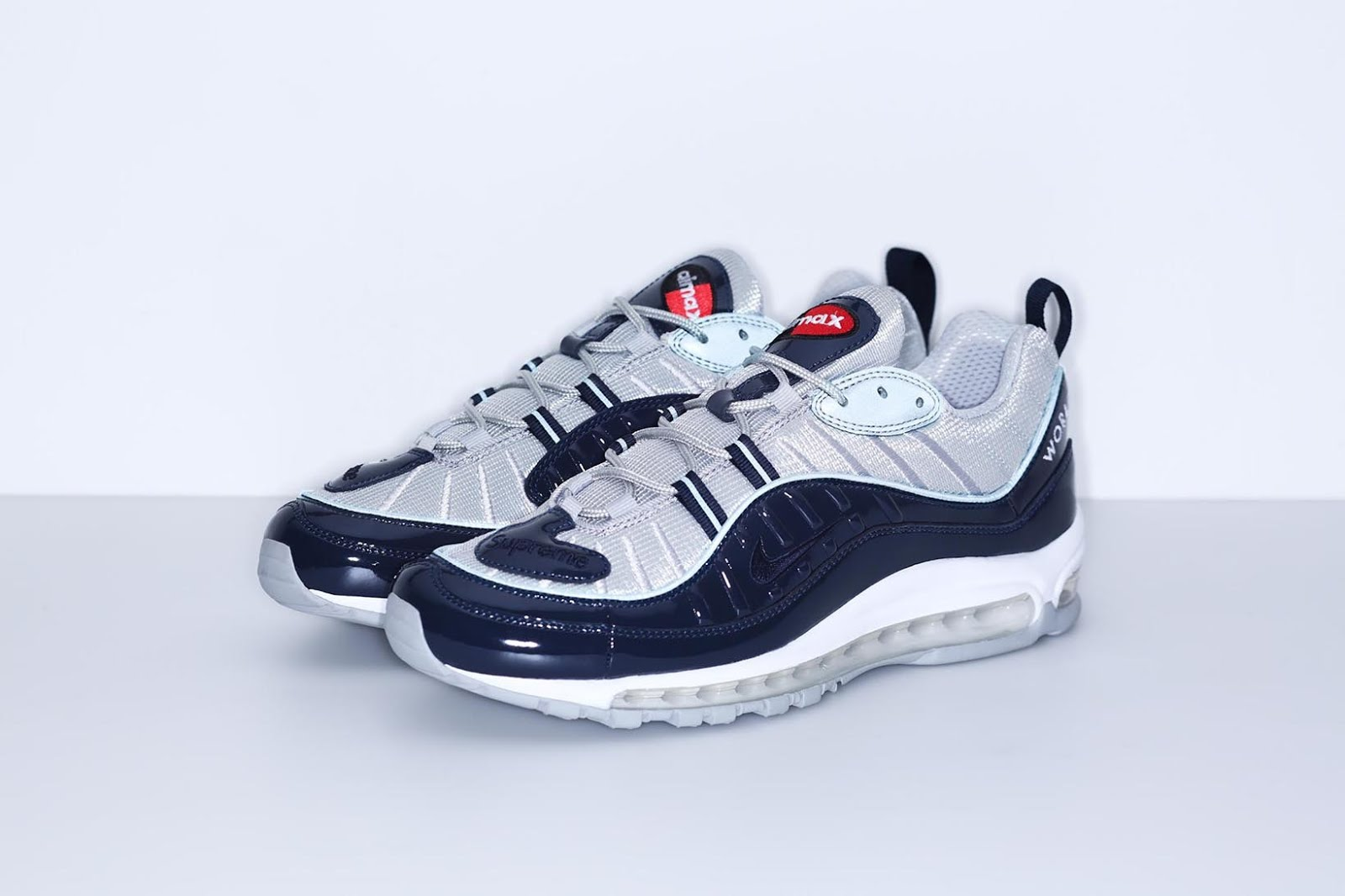 93f8ae4b247d Supreme x Nike Air Max 98 Re-ReleasesTomorrow - Sneaker News   Review