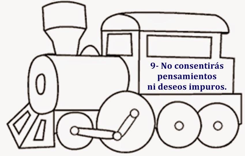 .: LOS 10 MANDAMIENTOS (IMÁGENES PARA ESCUELA DOMINICAL DE ...