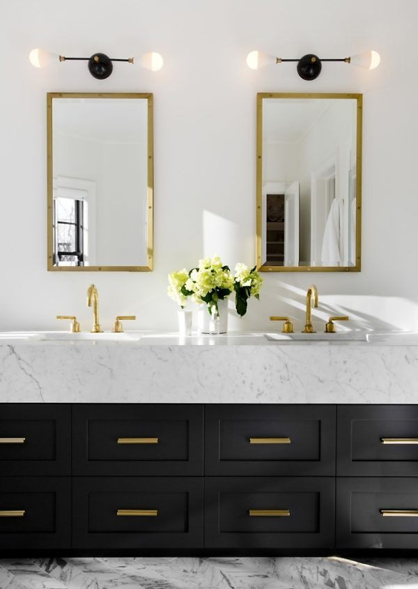 Interiors By Jacquin Creative Ways To Use Wall Sconces - Long bathroom sconces